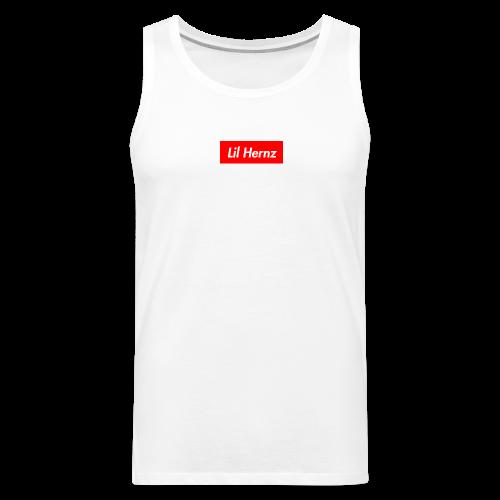 Lil Hernz Box Logo - Men's Premium Tank