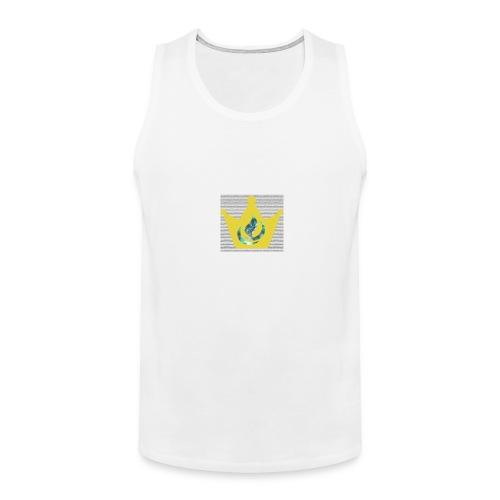 Flaming Crown - Men's Premium Tank