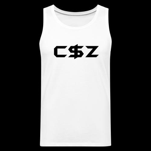 C$Z Black - Men's Premium Tank