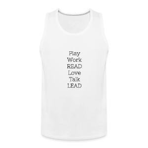 Play_Work_Read - Men's Premium Tank