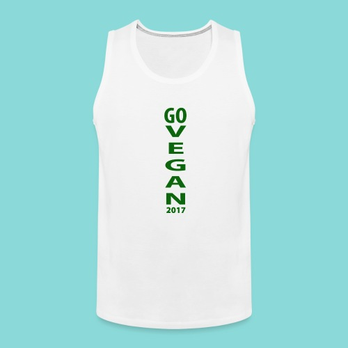 Go_Vegan_2017 - Men's Premium Tank
