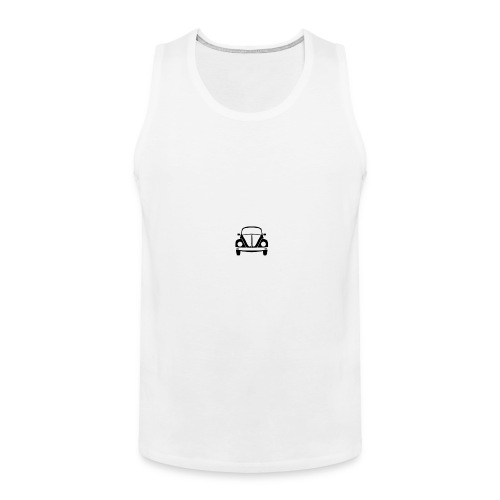 vw-beetle-icon-1573-01 - Men's Premium Tank