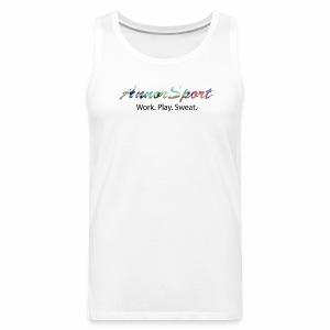 Annor Sport. Work. Play. Sweat. - Men's Premium Tank