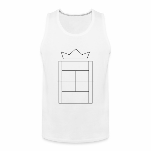Queen/King of the Court - Men's Premium Tank