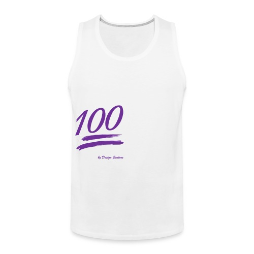 100 PURPLE - Men's Premium Tank