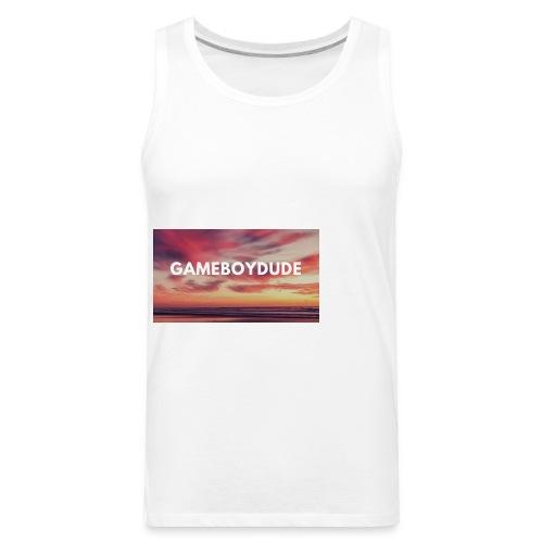 GameBoyDude merch store - Men's Premium Tank
