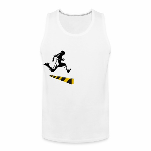 Leaping The Bounds of Caution - Men's Premium Tank