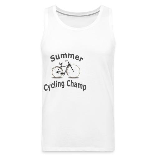Summer Cycling Champ - Men's Premium Tank