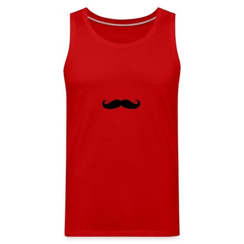 mustache - Men's Premium Tank