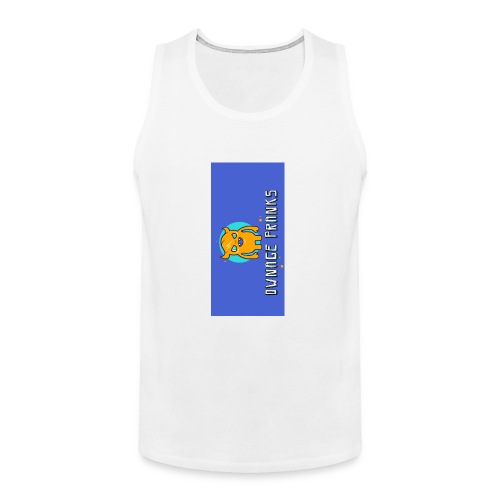 logo iphone5 - Men's Premium Tank