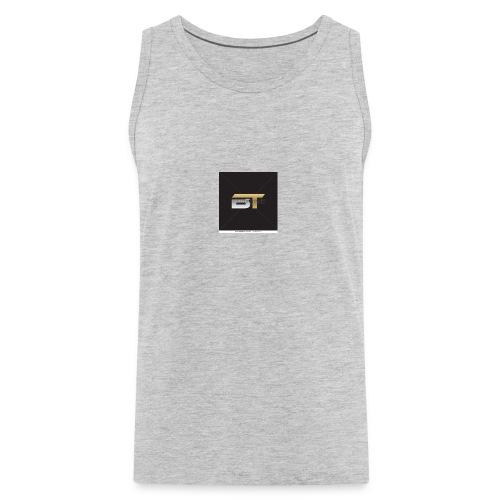 BT logo golden - Men's Premium Tank