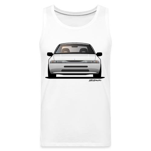 Subaru Alcyone SVX Modern JDM Icon Sticker - Men's Premium Tank