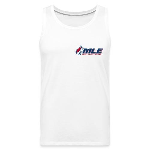 Major League Eating Small Logo - Men's Premium Tank