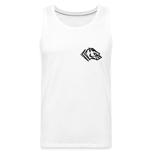 Kawmon Athleisure Gym Apparel Small Logo - Men's Premium Tank