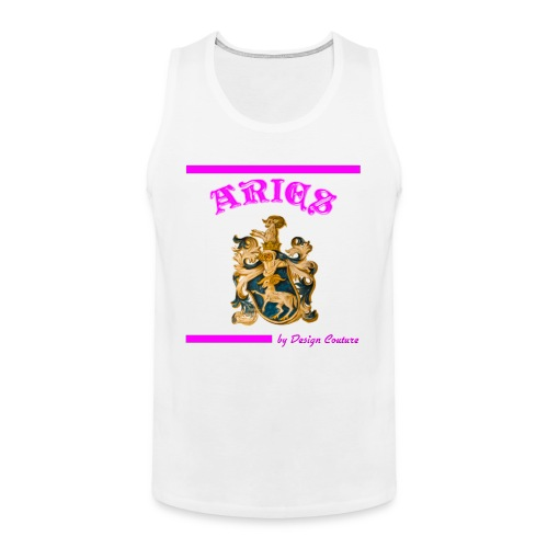 ARIES PINK - Men's Premium Tank