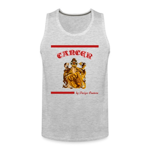 CANCER RED - Men's Premium Tank