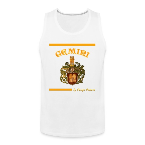 GEMINI ORANGE - Men's Premium Tank