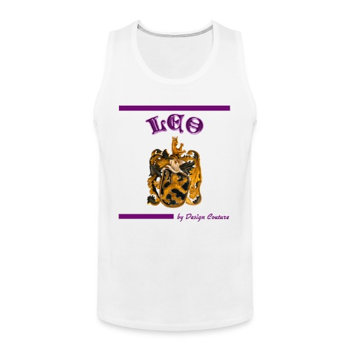LEO PURPLE - Men's Premium Tank