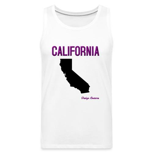 CALIFORNIA PURPLE - Men's Premium Tank