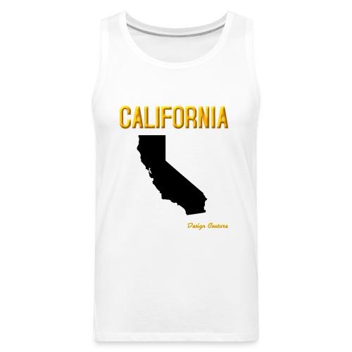 CALIFORNIA ORANGE - Men's Premium Tank