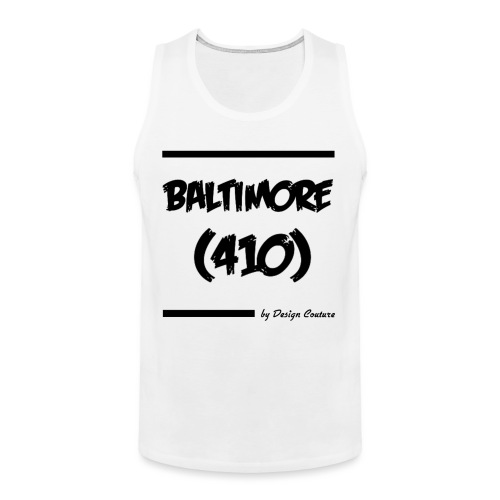 BALTIMORE 410 BLACK - Men's Premium Tank