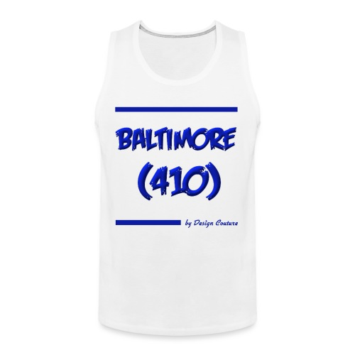 BALTIMORE 410 BLUE - Men's Premium Tank