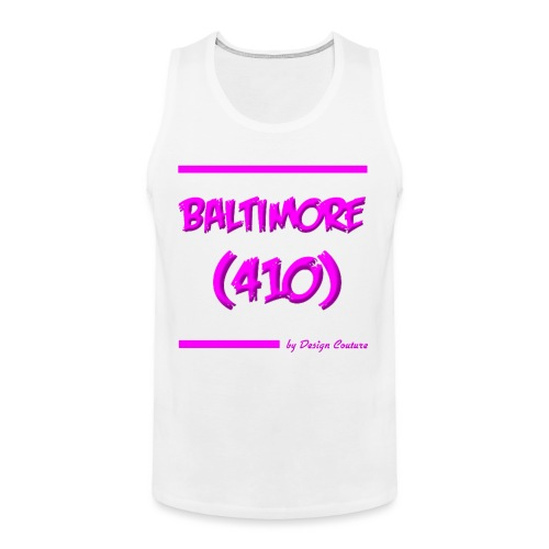 BALTIMORE 410 PINK - Men's Premium Tank