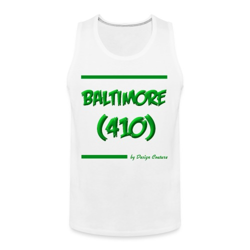 BALTIMORE 410 GREEN - Men's Premium Tank