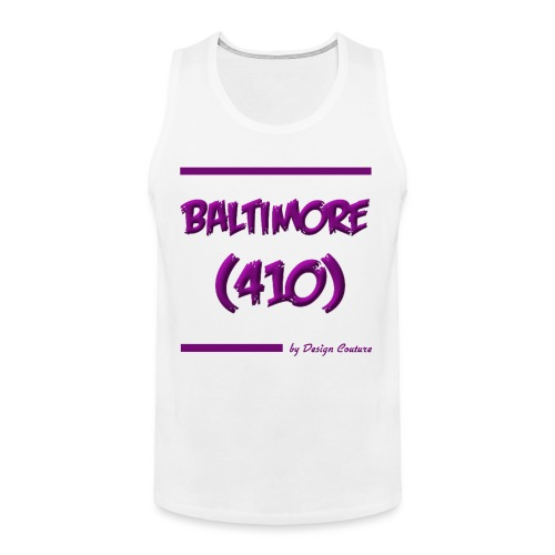 BALTIMORE 410 PURPLE - Men's Premium Tank