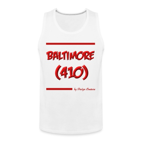 BALTIMORE 410 RED - Men's Premium Tank