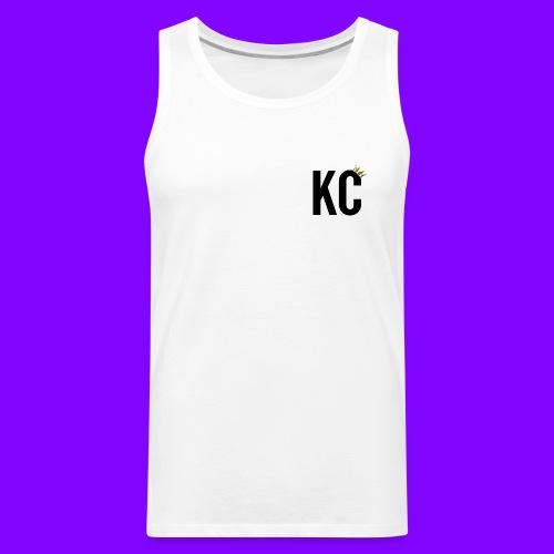Black Font KC - Men's Premium Tank