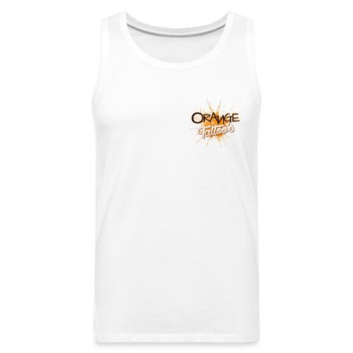 Orange Tattoo's - Men's Premium Tank