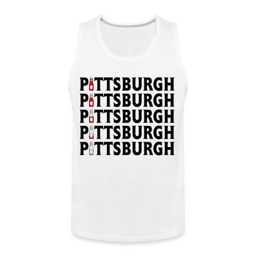 Pittsburgh (Ketchup) - Men's Premium Tank