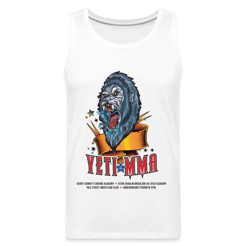 YETI MMA Never Quit 2020 Fundraiser - Men's Premium Tank