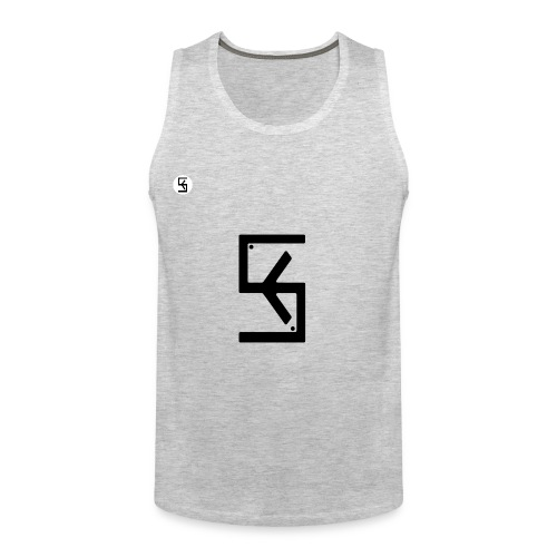 Soft Kore Logo Black - Men's Premium Tank