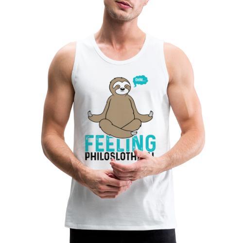 Feeling Philoslothical - Men's Premium Tank