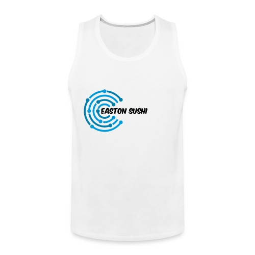 Easton Sushi Twirl Design - Men's Premium Tank