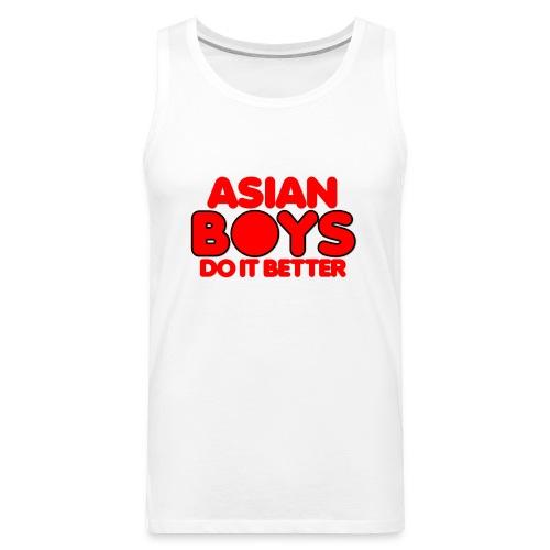 2020 Boys Do It Better 02 Asian - Men's Premium Tank