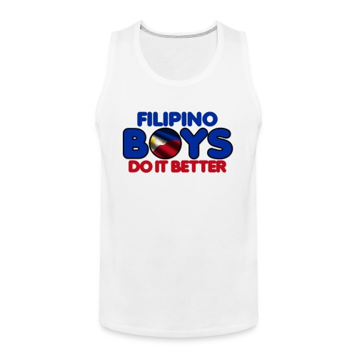 2020 Boys Do It Better 05 Filipino - Men's Premium Tank