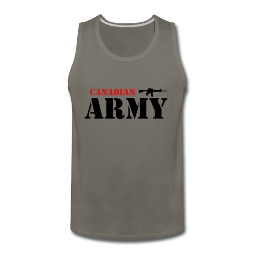 Canadian Army - Men's Premium Tank