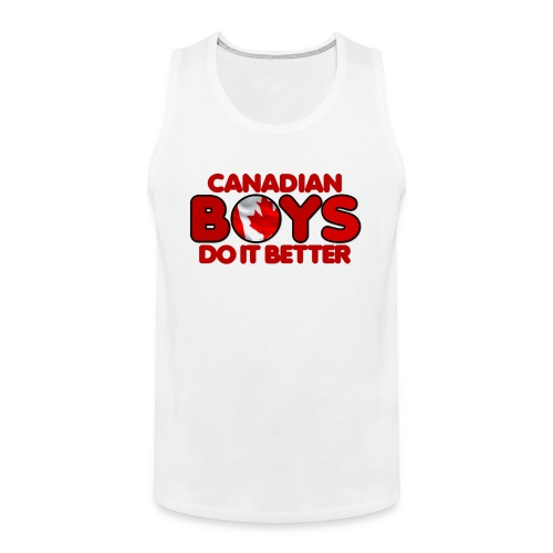 2020 Boys Do It Better 04 Canadian - Men's Premium Tank