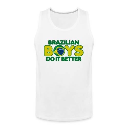 2020 Boys Do It Better 09 Brazil - Men's Premium Tank