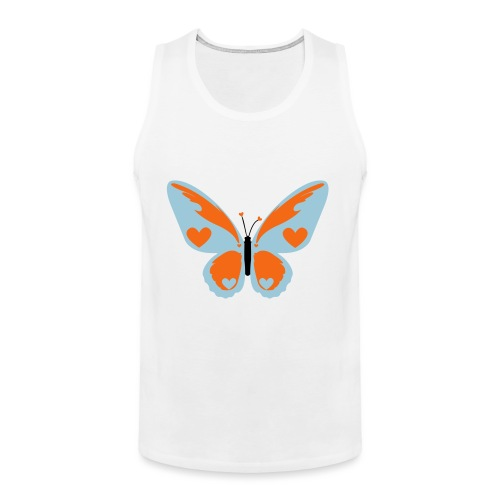 Butterfly with Love - Men's Premium Tank