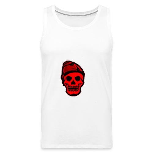 RED Skeleton HaHaHaHa - Men's Premium Tank