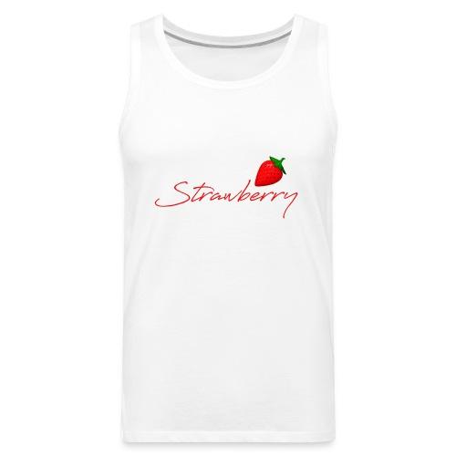 Strawberry Forever 1 - Men's Premium Tank