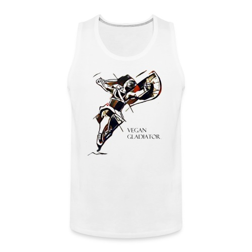 VEGAN GLADIATOR - Men's Premium Tank