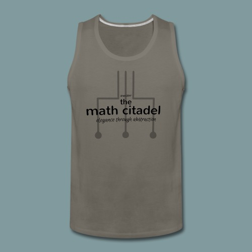Abstract Math Citadel - Men's Premium Tank