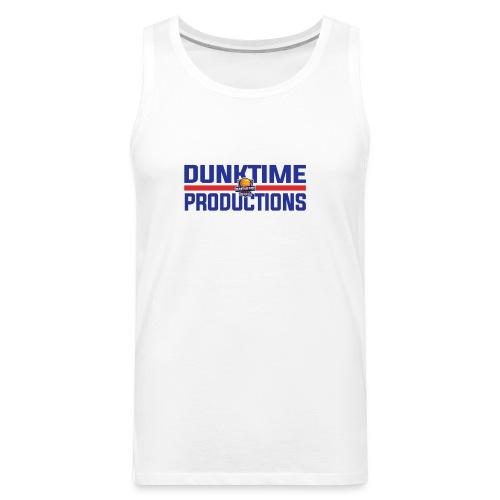 DUNKTIME Retro logo - Men's Premium Tank