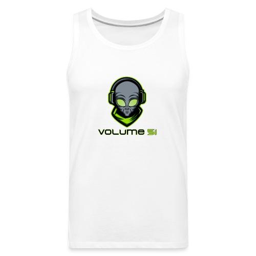 Volume 51 Text Logo - Men's Premium Tank