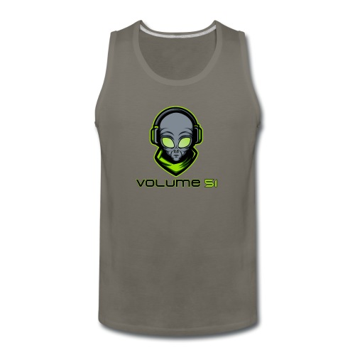 Volume 51 Text Logo - Men's Premium Tank